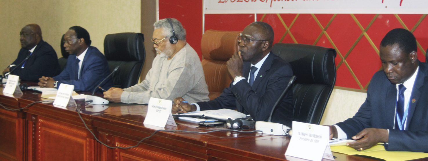 COLLOQUE INTERNATIONAL DE OUAGADOUGOU SUR LA SECURITE : Le CESDS pour un Plan Marshall pour le Sahel