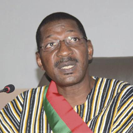 SESSION ORDINAIRE DE L'ASSEMBLEE NATIONALE  Baptême de feu de Alassane Sakandé