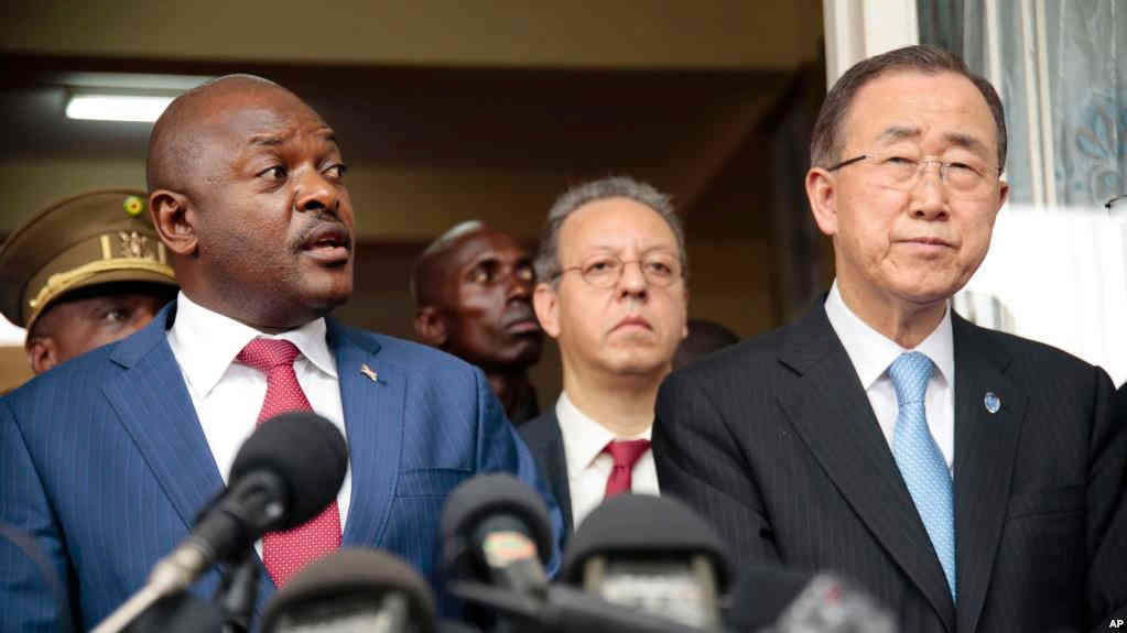 RESOLUTION AFRICAINE SUR LE BURUNDI : Complot contre le peuple burundais