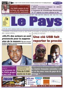 Le Journal du 22/09/2017 AU 24/09/2017