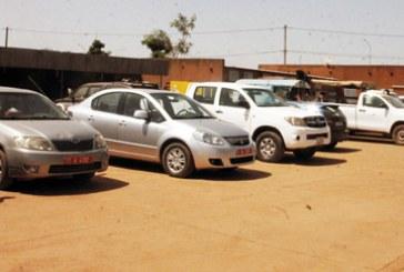 OPERATIONS  DE CONTROLE DES VEHICULES D'ETAT :   18 véhicules fond rouge en fourrière