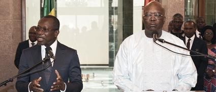 PATRICE TALON AU BURKINA FASO  : Pour donner un coup de fouet à la coopération bilatérale