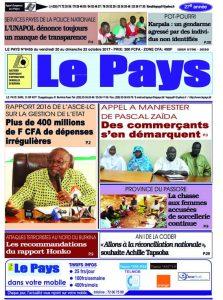 Le Journal du 20/10/2017