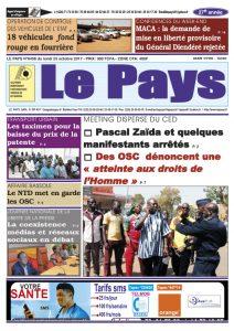 Le Journal du 23/10/2017