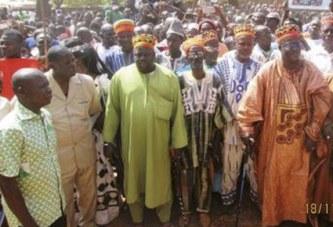 YAKO   :   Des populations marchent pour exiger « une justice équitable » pour Gilbert Diendéré