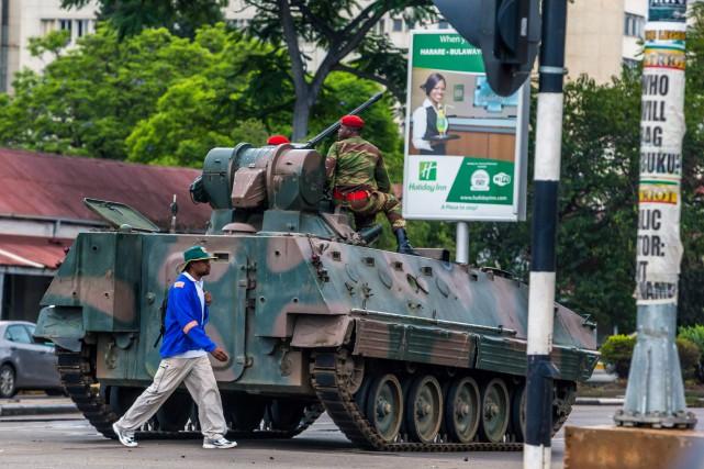 CRISE POLITIQUE AU ZIMBABWE : Voilà ce qui arrive quand un régime s'adosse à l'armée