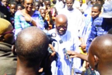 ATTAQUE TERRORISTE A BOURZANGA    : Simon Compaoré remonte le moral des populations
