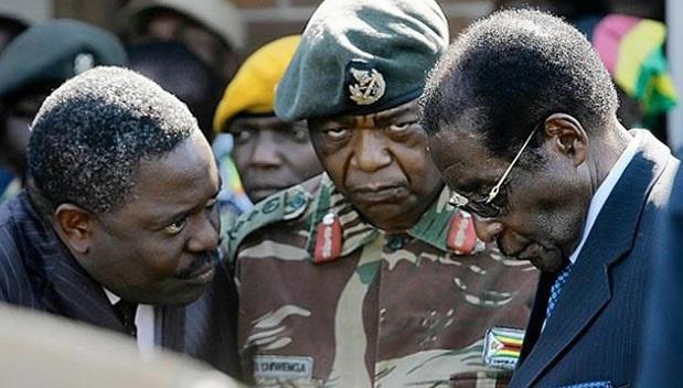 SORTIE DE L'ARMEEAU ZIMBABWE : Un avertissement sans frais pour Mugabe