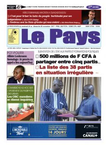 Le Journal du 24/11/2017