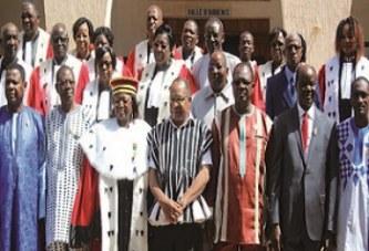 CHAMBRE D'APPEL DE LA HAUTE COUR DE JUSTICE  :    Les juges prêtent serment