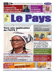 Le Journal du 23/11/2017