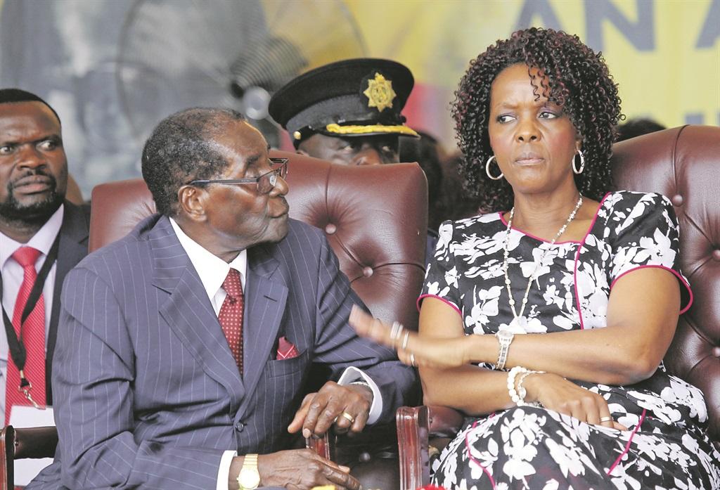 CRISE POLITICO-MILITAIRE AU ZIMBABWE : Quand Grace pousse son mari à la disgrâce