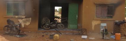 ATTAQUE DU COMMISSARIAIT DE KOUMBRI  :   De nombreux dégâts matériels enregistrés