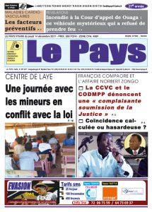 Le Journal du 14/12/2017