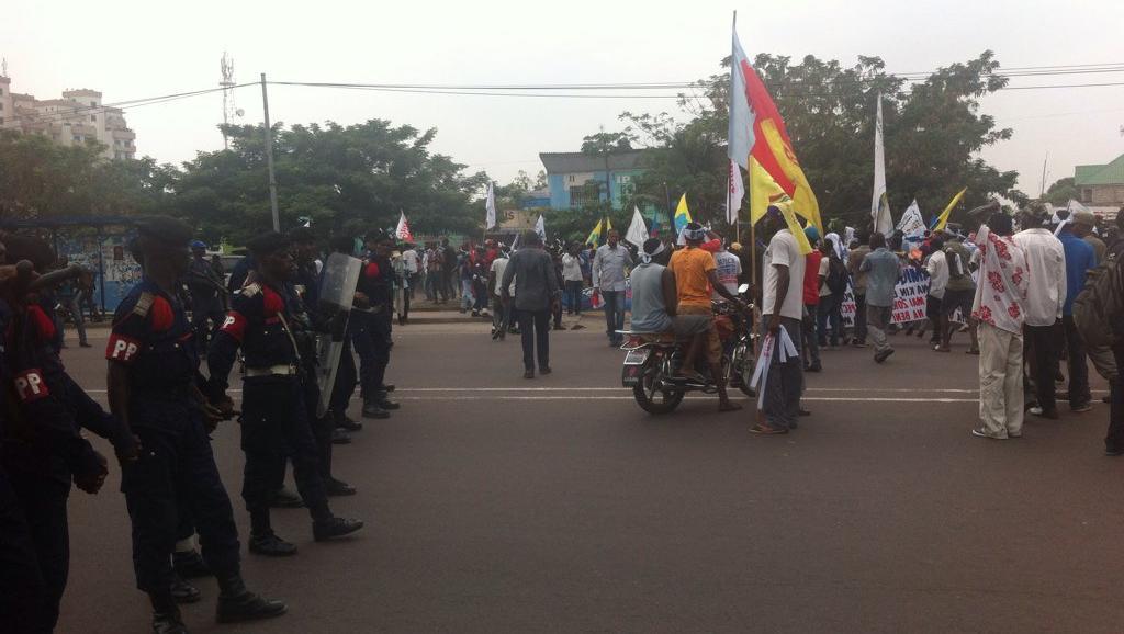 ENIEME MANIF DE L'OPPOSITION EN RDC: Il en faut plus pour inquiéter Kabila