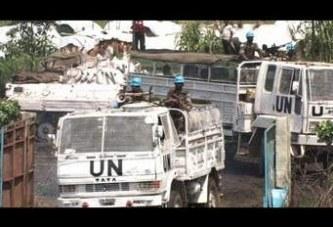 ATTAQUE CONTRE LES CASQUES BLEUS EN RDC : A qui profite le crime ?
