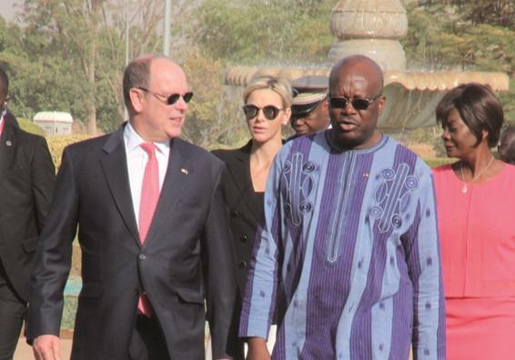 SEJOUR DU PRINCE DE MONACO A OUAGA : Quand le Burkina fait miroiter son PNDES