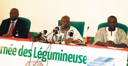 JOURNEE DES LEGUMINEUSES   :  Rendez-vous le 19 février à Koumbané dans le Yatenga