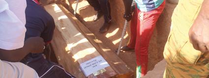INHUMATION DES SOLDATS TUES LE 2 MARS :   Colère et indignation au cimetière de Gounghin