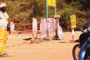 BITUMAGE DE LA ROUTE YALGADO / GARE DE L'EST   :  Le calvaire des usagers
