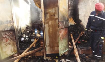 INCENDIE AU MARCHE DE POUYTENGA  :   De nombreux dégâts matériels enregistrés