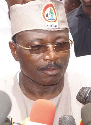 EDDIE KOMBOIGO, PRESIDENT DU CDP  :   « Notre seul adversaire, c'est la majorité qui n'arrive pas à gérer notre pays »