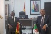 VISITE DU MINISTRE ALGERIEN DE L'INTERIEUR EN GUINEE