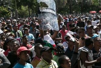 MANIFS DE RUE A MADAGASCAR