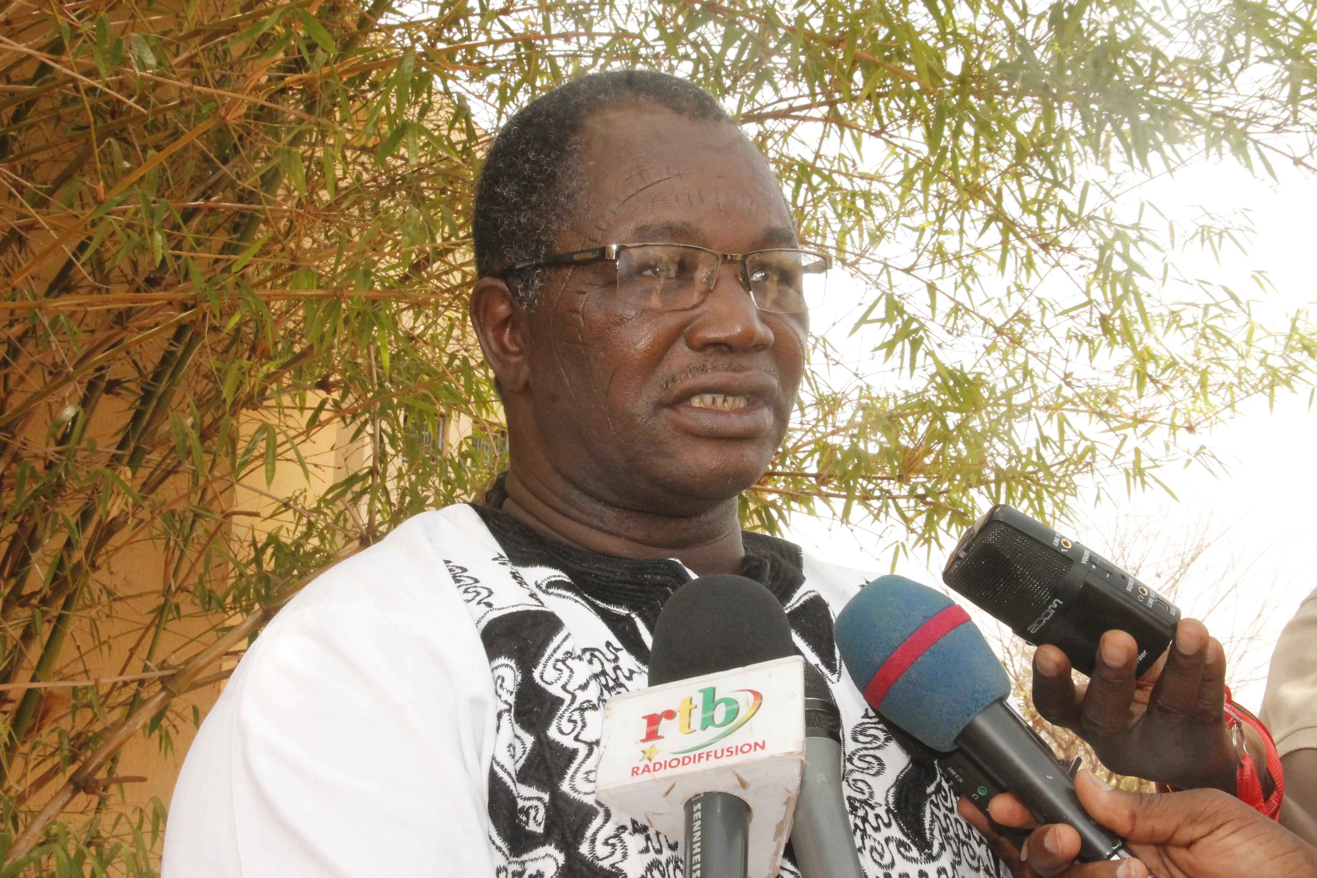 ZOULI PHILIPPE KABRE, PRESIDENT DE L'UDB/R   :  « L'eldorado au Burkina Faso en 2020, c'est Roch Marc Christian Kaboré »