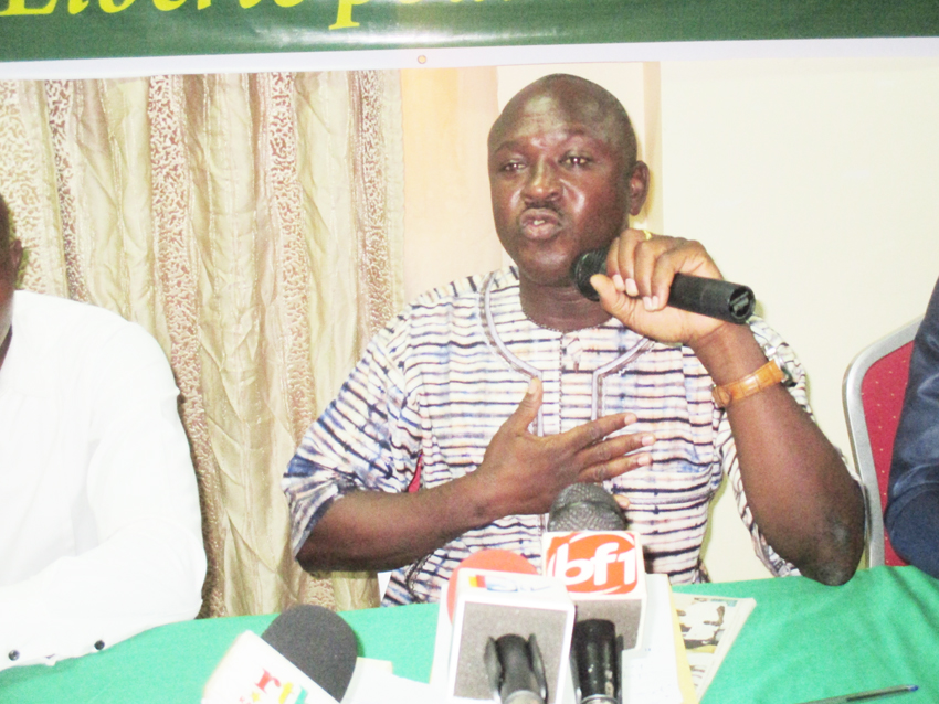 PASCAL ZAIDA, COORDONNATEUR DU CED    :  « Le pouvoir de Roch est une source de malheurs pour le Burkina »