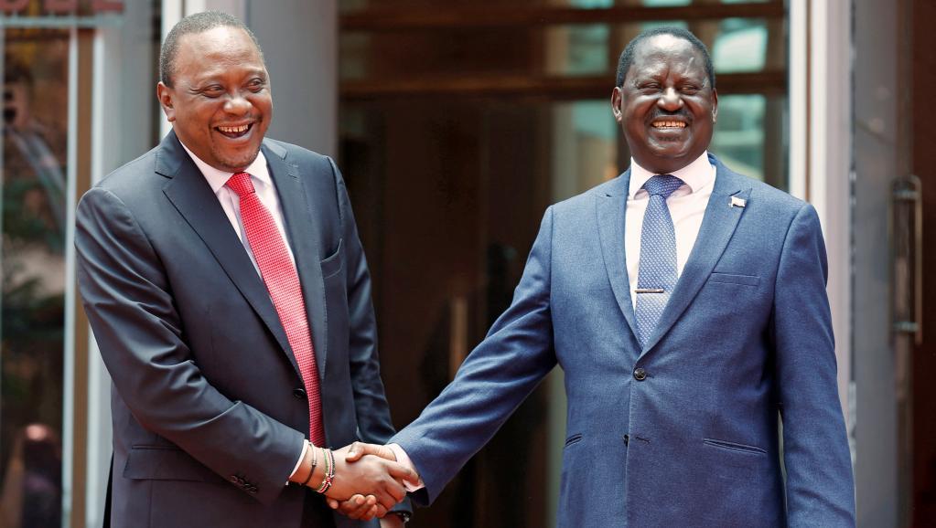 RAPPROCHEMENT ENTRE UHURU ET ODINGA AU KENYA