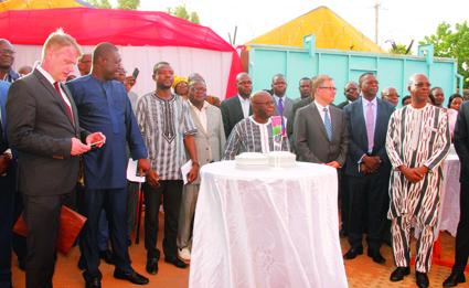 COOPERATION BURKINA FASO-REPUBLIQUE TCHEQUE   :   Un consul honoraire pour le Burkina Faso