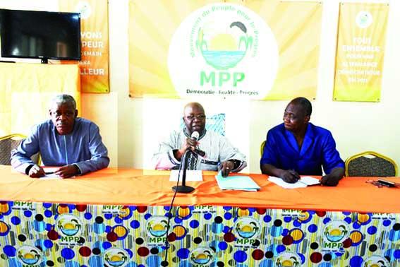 GOUVERNANCE DU MPP   :  « Nous sommes sur la bonne voie, n'en déplaise à nos contempteurs », dixit Simon Compaoré