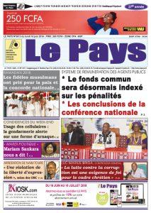 Le Journal du 18/06/2018