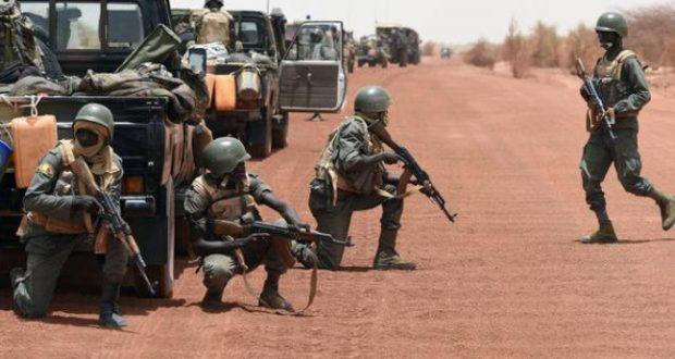 NEUTRALISATION DE TERRORISTES PAR L'ARMEE MALIENNE
