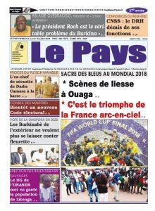 Le Journal du 16/07/2018