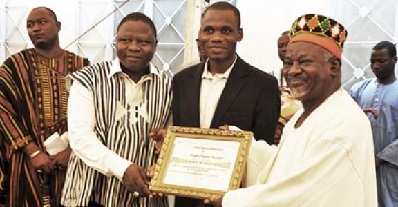 JOURNEE INTERNATIONALE DE LA JEUNESSE 2018  :   Le Mogho Naaba désormais président d'honneur du Conseil national de la jeunesse du Burkina