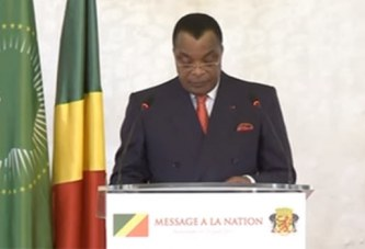 MESSAGE DU PRESIDENT CONGOLAIS A LA NATION
