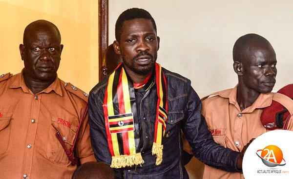 RETOUR AUDACIEUX DE BOBI WINE EN OUGANDA