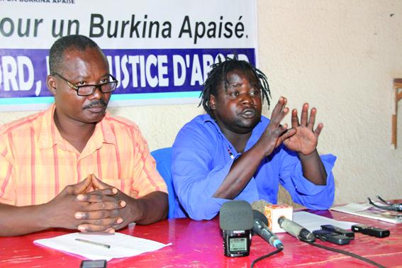 SITUATION SOCIOPOLITIQUE NATIONALE :  TOUBA contre la marche- meeting du CFOP