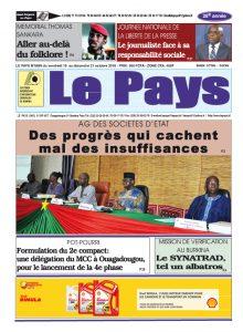 Le Journal du 19 au 21/10/2018