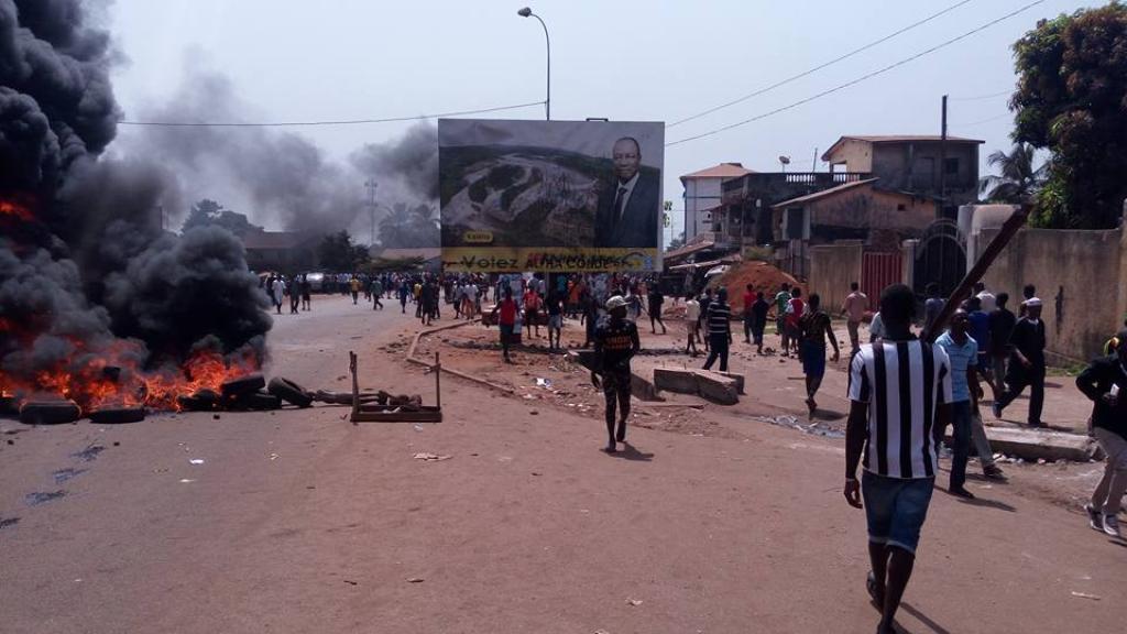 MORT DE MANIFESTANTS EN GUINEE