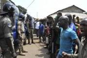 Répression de la manifestation de l'opposition en Guinée