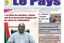 «LE PAYS» N°6696 du 16/10/2018