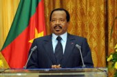 FELICITATIONS ANTICIPEES DE OBIANG A PAUL BIYA