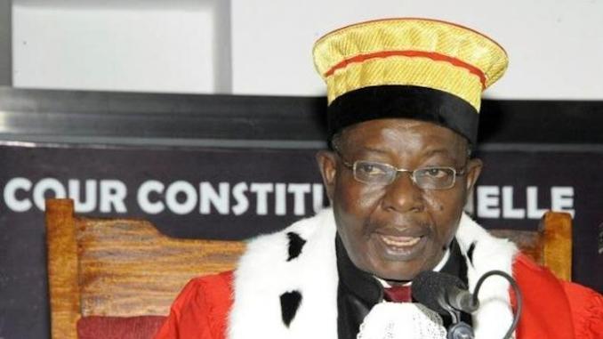 LIMOGEAGE DU PRESIDENT DE LA COUR CONSTITUTIONNELLE GUINEENNE