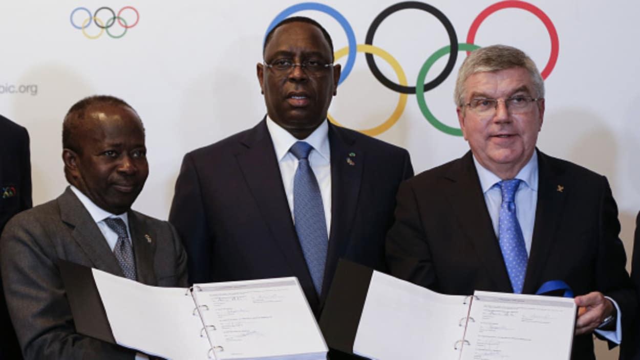LES JEUX OLYMPIQUES DE LA JEUNESSE POUR LA PREMIERE FOIS EN AFRIQUE