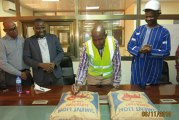 CIMASSO :  Le premier sac de ciment est sorti