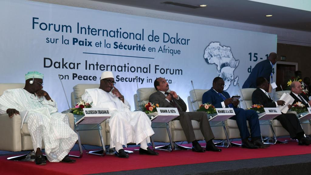 FORUM DE DAKAR SUR LA SECURITE EN AFRIQUE