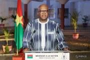 DISCOURS DU PRESIDENT DU FASO A LA NATION